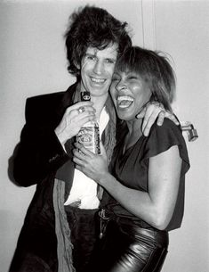 Tina Turner & Keith Richards