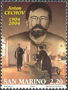 #Russian playwright.