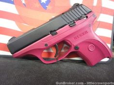 Ruger LC9 9mm Raspberry Pistol LtEd New 3220. for my concealed gun.. sooo cute.. :D
