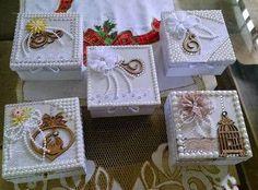 Resultado de imagen para caixas decoradas