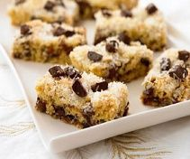 """Biggest Loser """"decadent date bars"""" might sub some raisins for dates to cut cost."""