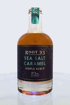 Sea Salt Caramel Simple Syrup