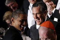 In break from tense campaign, Obama and Romney score laughs with standup routines - CSMonitor.com