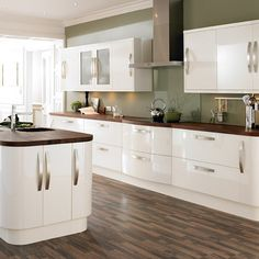 1000 Images About Cream Gloss Kitchens On Pinterest