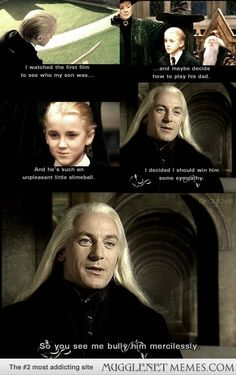 Jason Isaacs on how he approached the character of Lucius Malfoy... he's a great actor :)