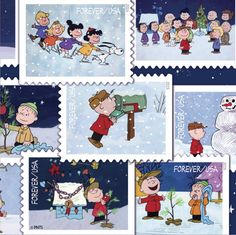 New #CharlieBrown stamps are now available from the @uspostalservice!