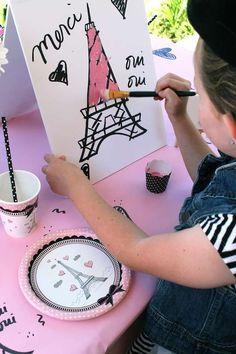 French / Parisian Birthday Party Ideas | Photo 1 of 14