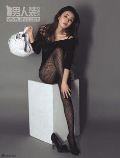 赵丽颖 Zhao Li Ying Chinese Model, Korean Model, Princess Agents, Zhao Li Ying, White Cherry Blossom, Black Pantyhose, Chinese Actress, Tight Dresses, Chic