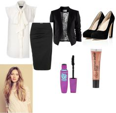 """Business meeting"" by mahez01 on Polyvore"