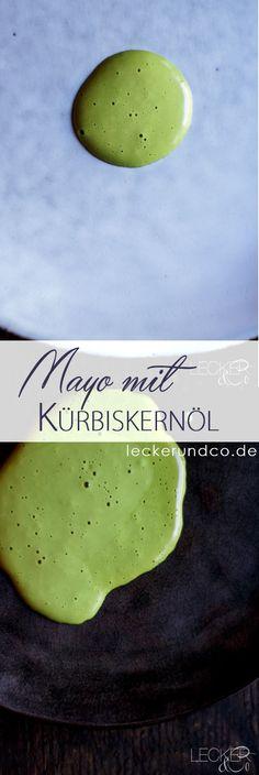 Kürbis Mayo mit Kürbiskernöl