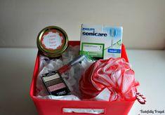 Candy Cane Sugar Scrub & More Beauty Gift Basket Ideas