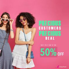 55d9800ec1e What s better than FLAT 50% OFF  MINIMUM 50% OFF!! Find your