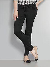 Super Soft Super Stretch Jean Legging - Black - Average