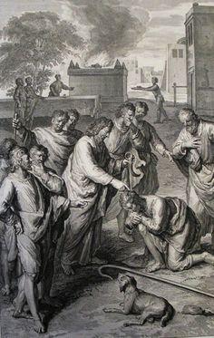 118. Samuel anoints David. 1 Samuel cap 16 v 13. Hoet