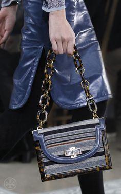 Tory Burch Needlepoint Resin Frame Bag