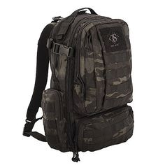 TRU-SPEC Circadian Backpack 100 Poly Multicam Black 4817000 for sale online Molle Gear, Molle Backpack, Backpack Bags, Survival Backpack, Black Backpack, Survival Gear, Hunting Bags, Hunting Clothes, Concealed Carry Backpack