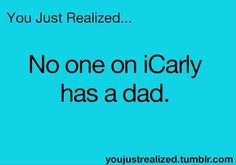 Carly does.....he just never was on it untill the last episode when he took carly ending the tv show D: