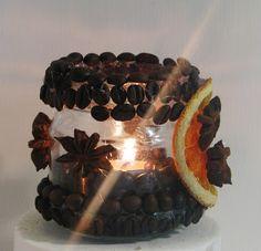 Pomysły plastyczne dla każdego DiY - Joanna Wajdenfeld: Aromatyczne kawowe lampiony