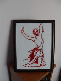 Obraz tancerki