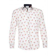 A Fish Named Fred Shirt Flamingo