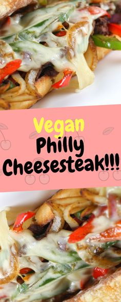 Vegan Philly Cheesesteak - 10Recipes10 | 10Recipes10