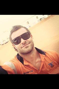 workbootsfootys: kiyanta86: Hot Aussie Tradie Hot as