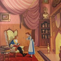 Arte Disney, Disney Fan Art, Disney Pixar, Iphone Wallpaper Sky, Disney Wallpaper, Disney Dream, Disney Love, Belle And Adam, Male Fairy