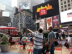 Times Square #NYC #tourists