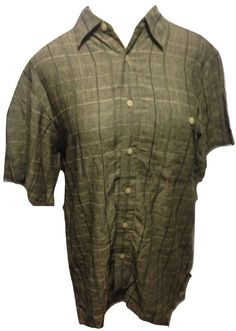 Appalachian trail mens flannel shirt button up green black for Mens 4xlt flannel shirts