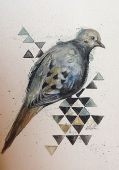 The father wings and classic on pinterest for Mourning dove tattoo