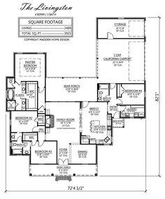 Madden Home Design - The Livingston