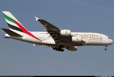 Airbus A380-861, Emirates, A6-EEW, cn 153. Frankfurt, Germany, 9.3.2016.
