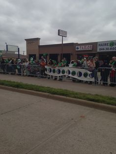 Part of the crowd at the parade #1800StPattysParade