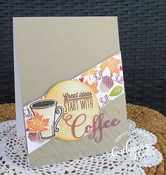 Catherine Pooler:  Coffee Lovers Fall Blog Hop