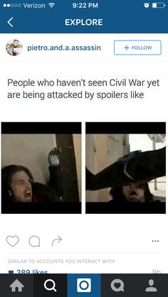 Accurate! I'm avoiding spoilers like no one's business.<<<This is actually kind of a spoiler in itself...