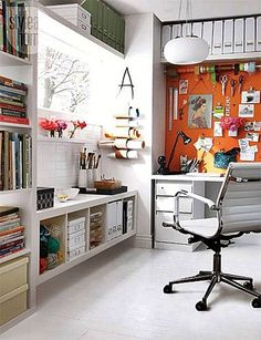 Creative workspace home office office art, home office space, home office design, house Home Office Space, Home Office Design, Home Office Decor, House Design, Home Decor, Office Ideas, Office Art, Small Office, Office Paper