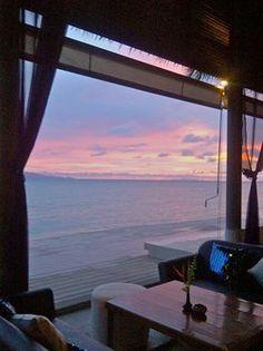 at Bay Lounge Resort in Ko Pangan, Thailand. Ko Samui, Koh Phangan, Places Around The World, Around The Worlds, Great Places, Beautiful Places, Salt And Water, Vacation Destinations, My Dream