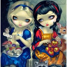 Alice and Snow White  From google.com