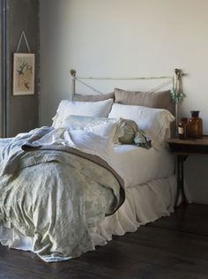 Bella Notte Bedding Collections - Bella Notte Linens and Bedding Dream Bedroom, Home Bedroom, Master Bedroom, Bedroom Decor, Lilac Bedroom, Shabby Bedroom, Cottage Bedrooms, Shabby Chic Bed Linen, Shabby Chic Furniture