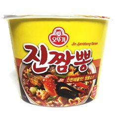 Ottogi Jin Jjambbong x 3,6,9 Cups Korean Fire Spicy Instant Noodles Ramen Ramyun #Ottogi #SpicyKoreanInstantNoodles