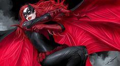 batwoman by nebezial.deviantart.com, Digital Painting, Fan Art, Illustration, Inspirational Art