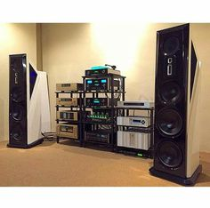 Legacy , McIntosh ,Accuphase & Theta Digital Front Electronics