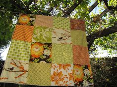 pretty autumn patchwork: by sewfunbymonique