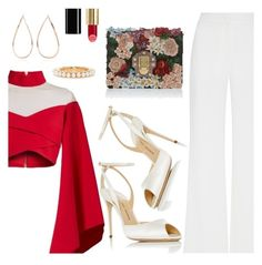 """""""Outfit of the Day"""" by dressedbyrose ❤ liked on Polyvore featuring Balmain, Alexis Mabille, Dolce&Gabbana, Paul Andrew, Anita Ko, Gucci, ootd, classy, Elegant and polyvoreeditorial"""