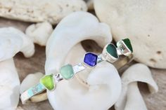 Atelys ~ Collections ~ Sea Glass Collection ~ Shopify Glass Collection, Sea Glass, Sapphire, Collections, Rings, Jewelry, Fashion, Moda, Jewlery
