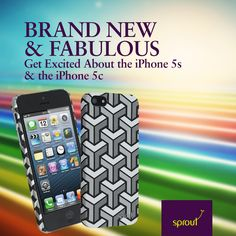Sprout has been busy at work creating brand new  Apple iPhone cases to offer iPhone 5s and iPhone 5c accessories and cases as soon as Apple gave the word.  #sprout #freedomtogrow #iphone5 #apple #newrelease #smartphone #iphonecases #coolhunter
