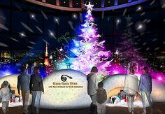 六本木ヒルズ展望台で12月2日~25日まで、ティム・バートン監督とコラボしたイベント「天空のクリスマス2014」が開催されます。