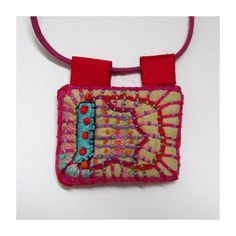 Rectangle Colorful and Happy Hand por MadrigalEmbroidery en Etsy