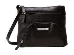 UPC 885719691868 product image for Calvin Klein Key Item Crossbody (Black 2) Cross Body Handbags   upcitemdb.com