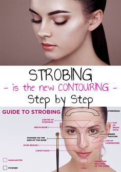 If you didn't found out until now, it's time to know that STROBING is the new CONTOURING. Here is How To STROBING Step by Step! Make Up, Fur, Simple, Step By Step, Natural Makeup, Creative Ideas, Maquillaje, Furs, Makeup